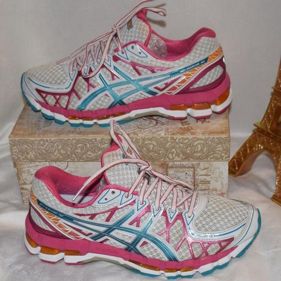 ASICS Gel Kayano 20 20th Anniversary Womens Size 7.5 Pink White   eBay